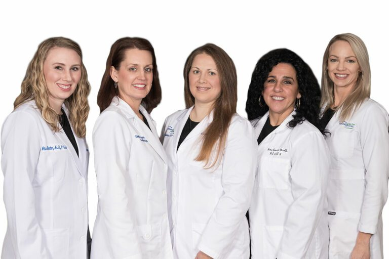 Audiologists Team Group Standing Photo Gateway ENT St Louis MO